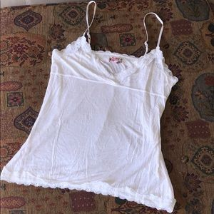 Buffalo cotton camisole with lace tank